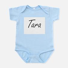 Tara artistic Name Design Body Suit