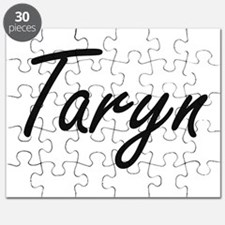 Taryn artistic Name Design Puzzle
