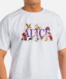 Alice and Friends in Wonderland, inc T-Shirt
