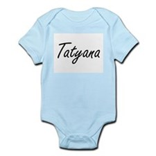 Tatyana artistic Name Design Body Suit
