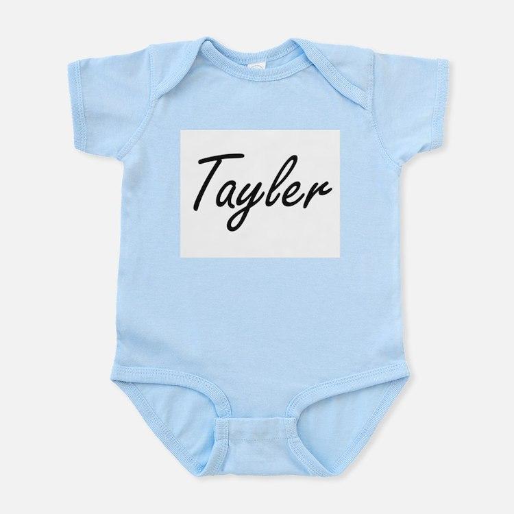 Tayler artistic Name Design Body Suit