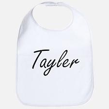 Tayler artistic Name Design Bib