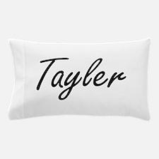 Tayler artistic Name Design Pillow Case
