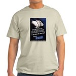 Defend The Right To Teach Ash Grey T-Shirt