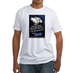 Defend The Right To Teach Fitted T-Shirt