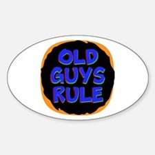 Old Guys Rule Decal