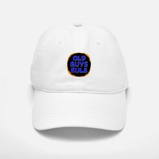 Old Guys Rule Baseball Baseball Baseball Cap