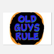 Old Guys Rule Postcards (Package of 8)