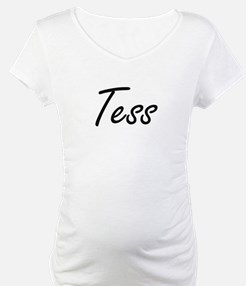 Tess artistic Name Design Shirt
