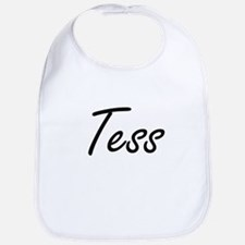 Tess artistic Name Design Bib