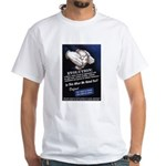 Defend The Right To Teach White T-Shirt