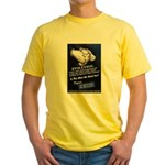 Defend The Right To Teach Yellow T-Shirt