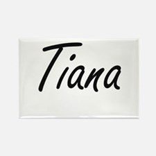 Tiana artistic Name Design Magnets