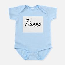 Tianna artistic Name Design Body Suit