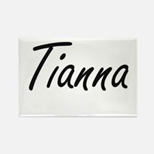 Tianna artistic Name Design Magnets