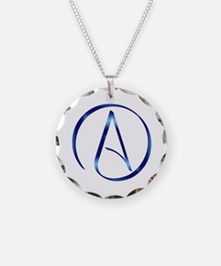 Atheism Symbol Necklace