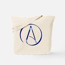 Atheism Symbol Tote Bag