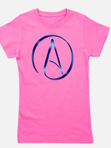Atheism Symbol Girl's Tee