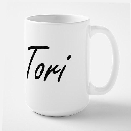 Tori artistic Name Design Mugs