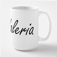Valeria artistic Name Design Mugs