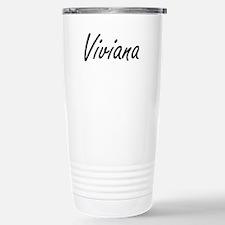 Viviana artistic Name D Travel Mug