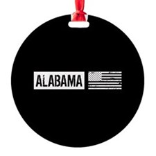 U.S. Flag: Alabama Ornament