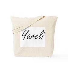 Yareli artistic Name Design Tote Bag