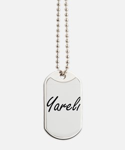 Yareli artistic Name Design Dog Tags