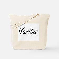 Yaritza artistic Name Design Tote Bag