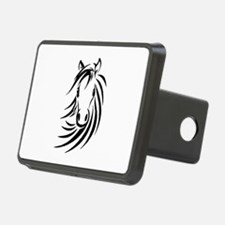 Black Horse Hitch Cover