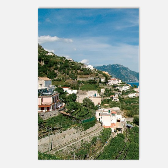 Itally - Amalfi Coastline Postcards (Package of 8)