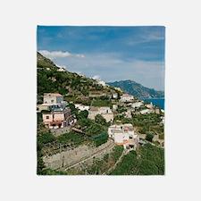 Itally - Amalfi Coastline  Throw Blanket