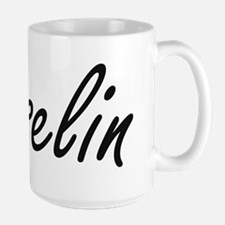 Yoselin artistic Name Design Mugs