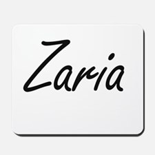 Zaria artistic Name Design Mousepad