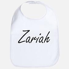 Zariah artistic Name Design Bib