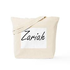 Zariah artistic Name Design Tote Bag
