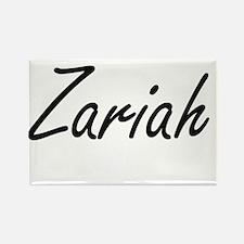Zariah artistic Name Design Magnets