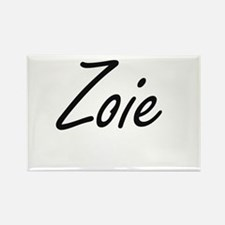 Zoie artistic Name Design Magnets
