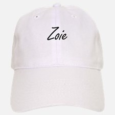 Zoie artistic Name Design Baseball Baseball Cap