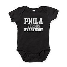 Philadelphia Versus Everybody Baby Bodysuit