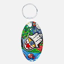 Hamsa Life3 Keychains