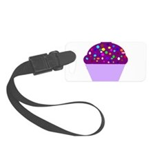 cupcake-purple-hi Luggage Tag
