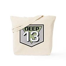 Deep 13 Tote Bag