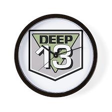 Deep 13 Wall Clock