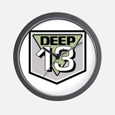 Deep 13 Wall Clock
