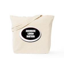 Black and White Rednecks Lives Matter Tote Bag