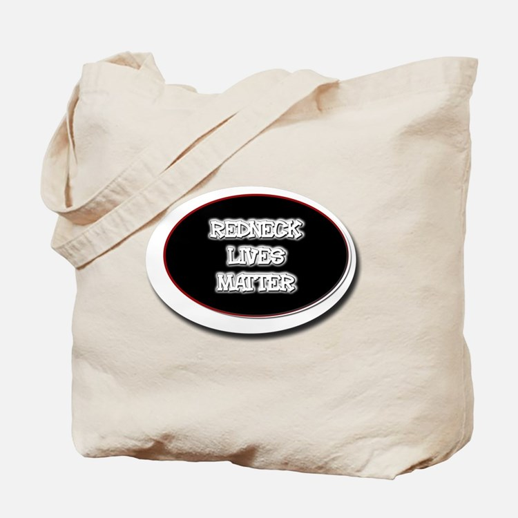 Black and White Rednecks Lives Matter Tote Bag