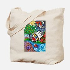 Hamsa del Amor Tote Bag