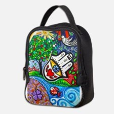 Hamsa del Amor Neoprene Lunch Bag