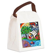 Hamsa Del Amor Canvas Lunch Bag